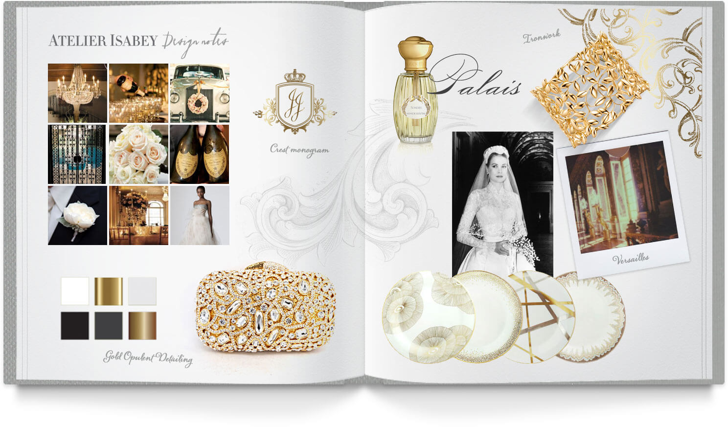 Ornate and opulent wedding inspiration
