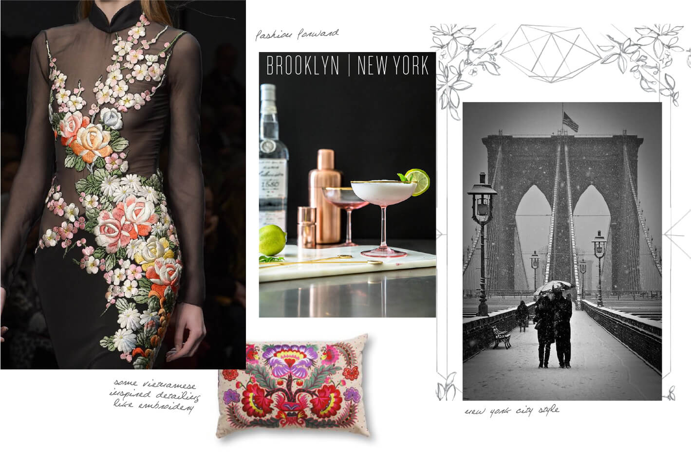 Brooklyn and Vietnamese image inspiration