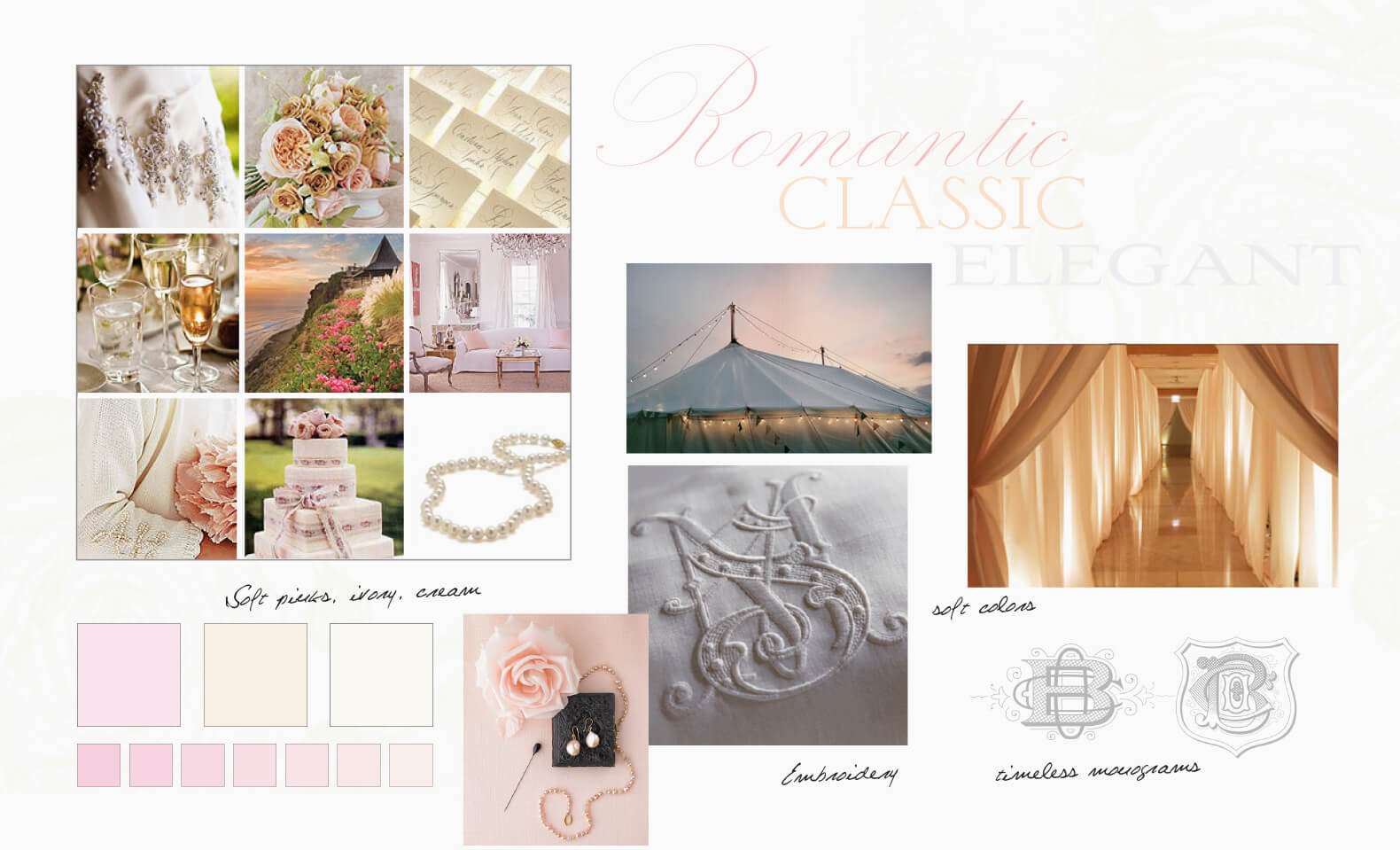 Classic, timeless and elegant inspiration