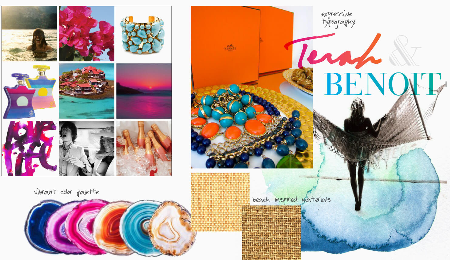 Colorful beach inspiration