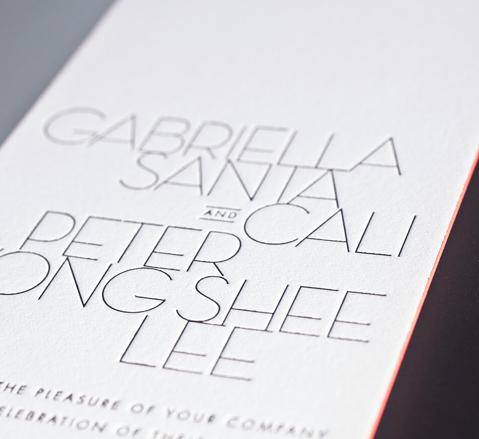 Contemporary typography