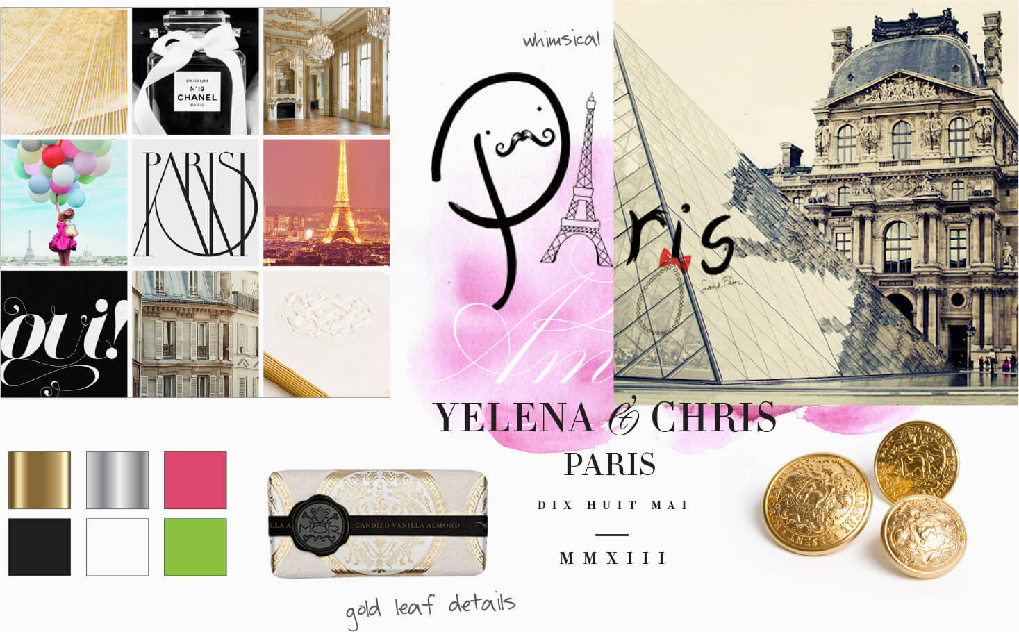 Louvre and contemporary packaging inspiration