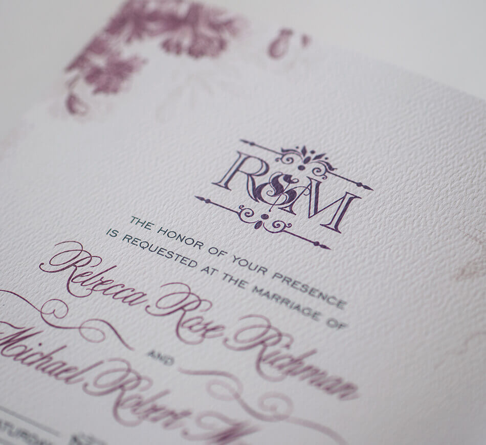 Fairytale inspired typography and monogram