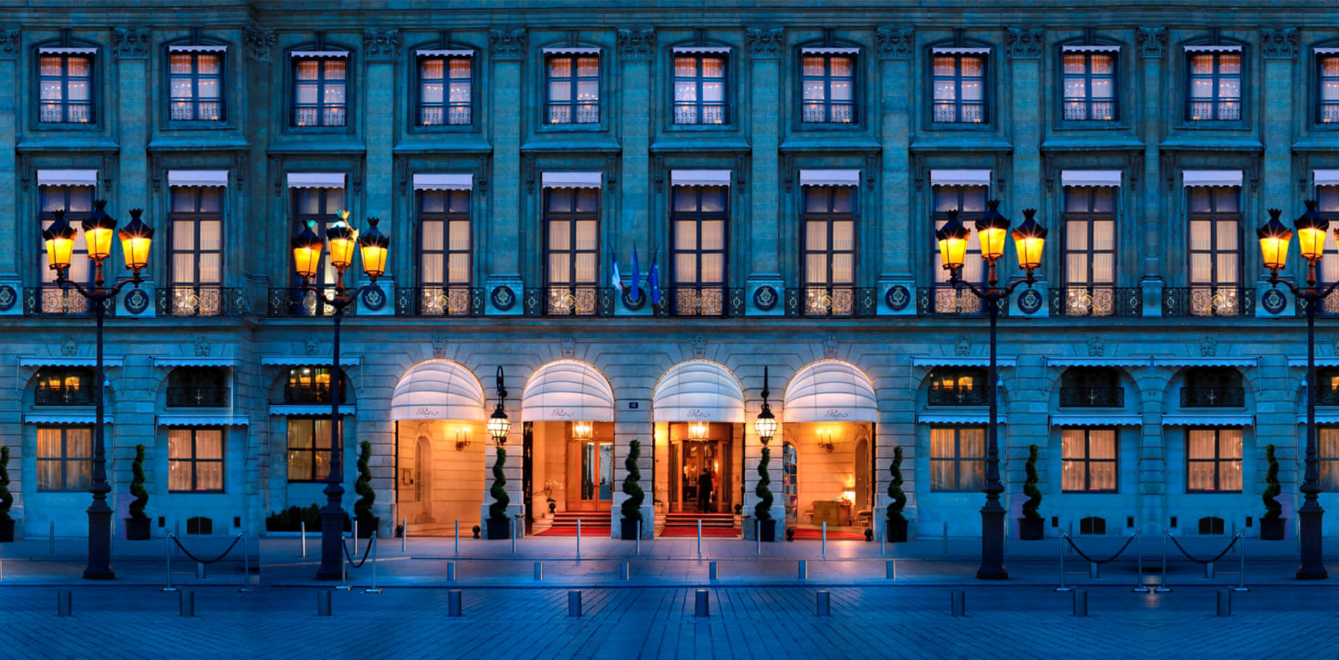 Ritz hotel on Place Vendôme in Paris