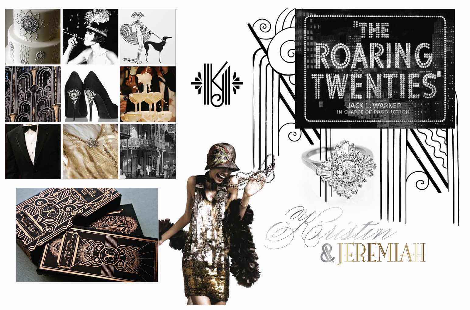 The roaring twenties flapper images