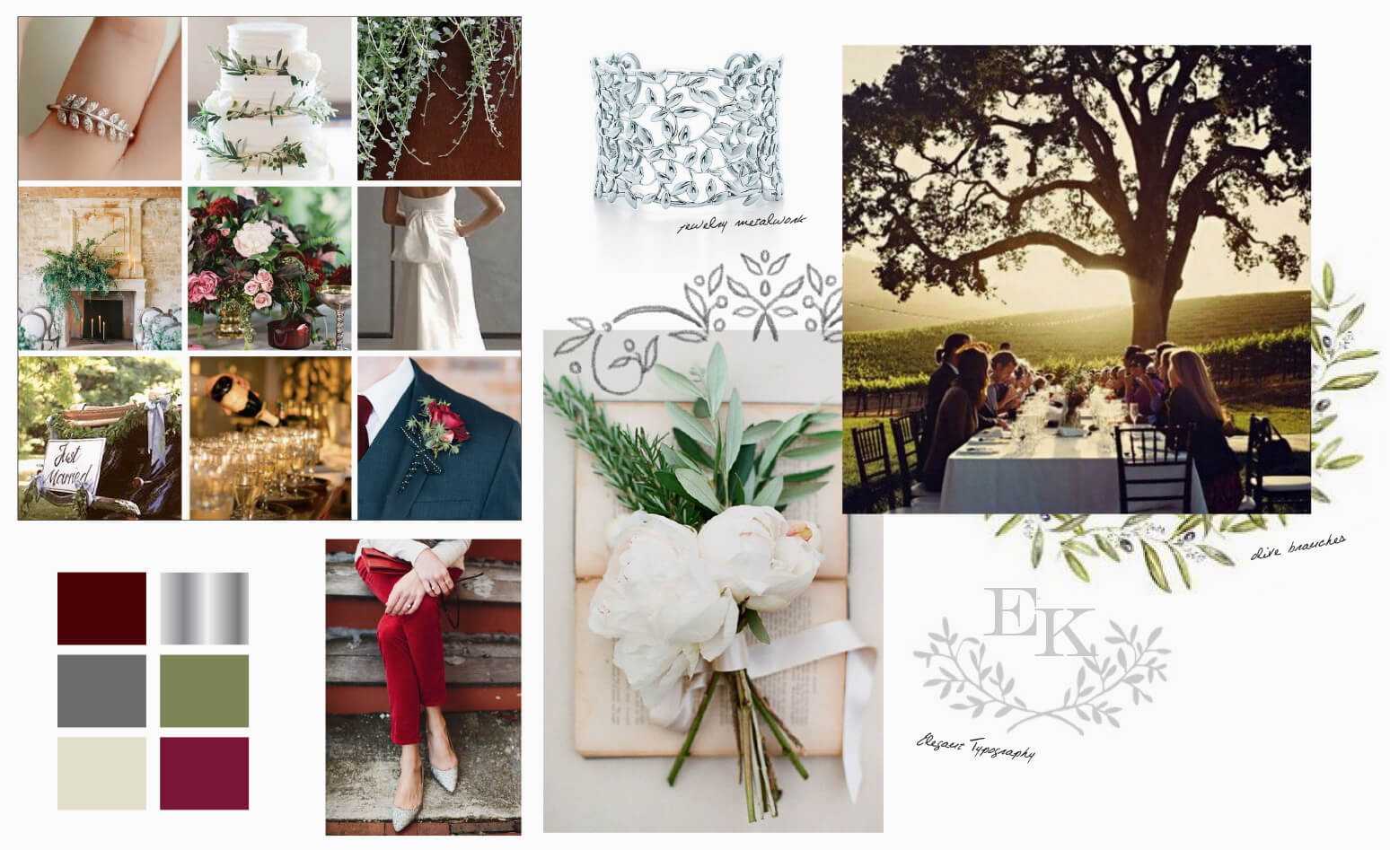 Country elegant wedding inspiration