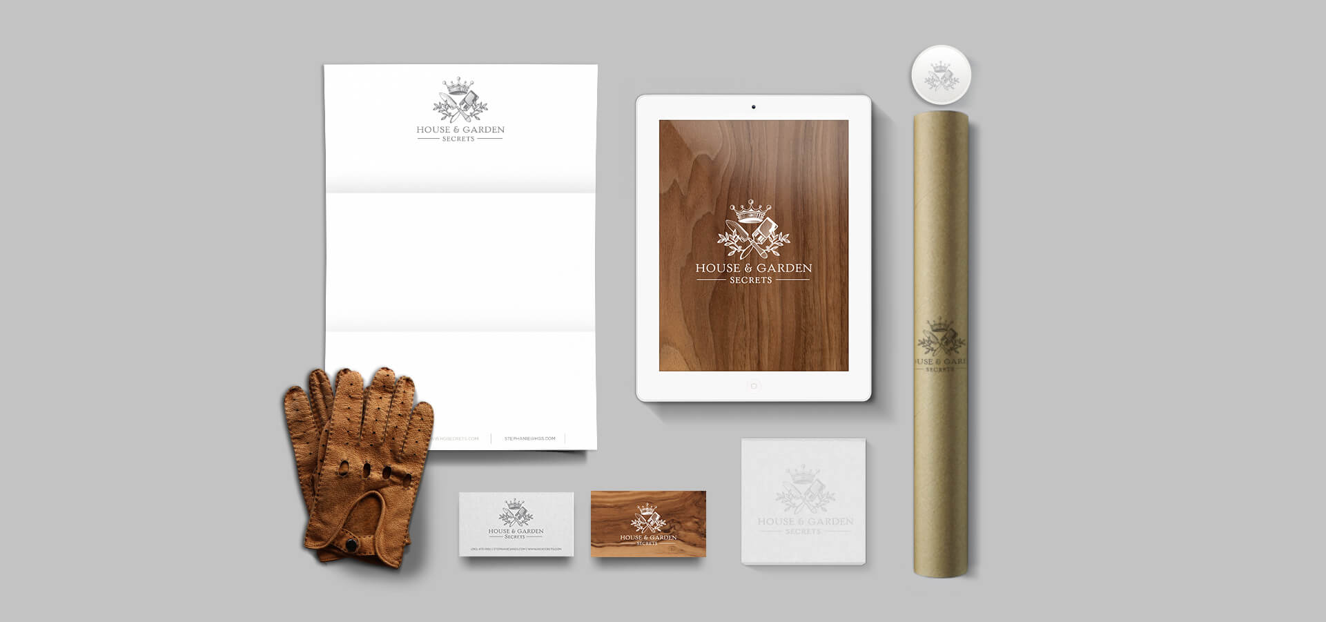 Stationery and digital branding