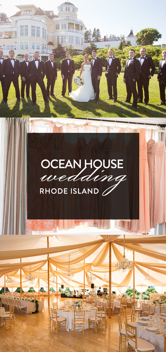 Ocean House Wedding in Rhode Island Pin
